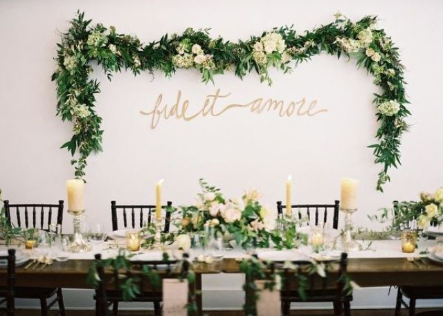 Greenery Spring Wedding Decor Ideas Youll Love 32 Garden Arts
